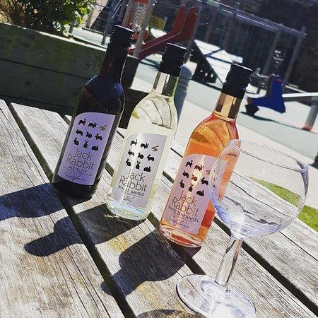 Mostyn, UK: Glass of Wine