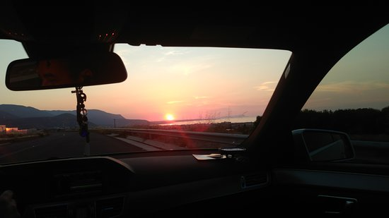 Kréta, Görögország: Summer 2017 Greece Crete Sunset