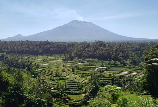 Mt. Agung Friday May 24th. Bali, Indonesia.