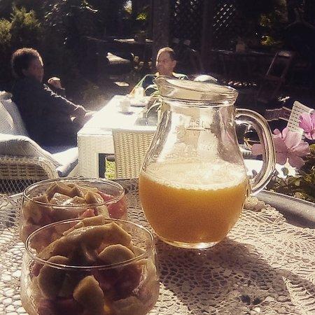 Salada de frutas no seu café da manhã
