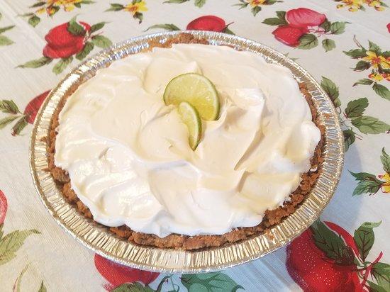 Flynn, เท็กซัส: Fresh Lime Icebox Pie, $15