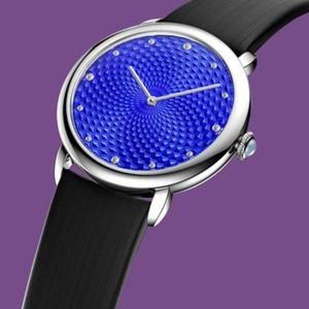 NAMFLEG artisans turn a wrist watch into a genuine piece of art