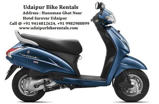 Udaipur Bike Rentals: Activa Bike on Rent in Udaipur