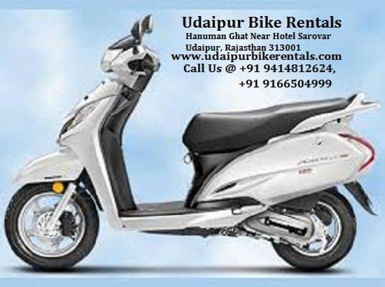 Udaipur Bike Rentals: Bike on Rent in Udaipur