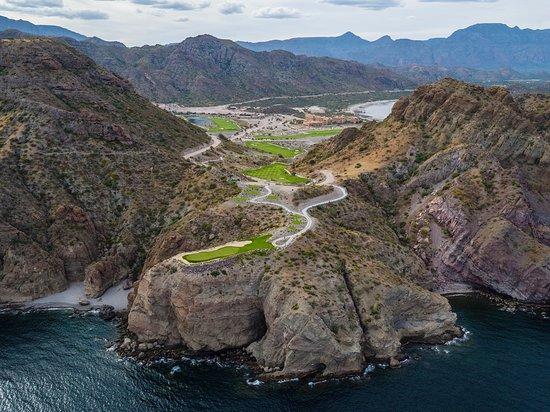 Loreto, México: Panoramic View - TPC Danzante Bay Golf Course