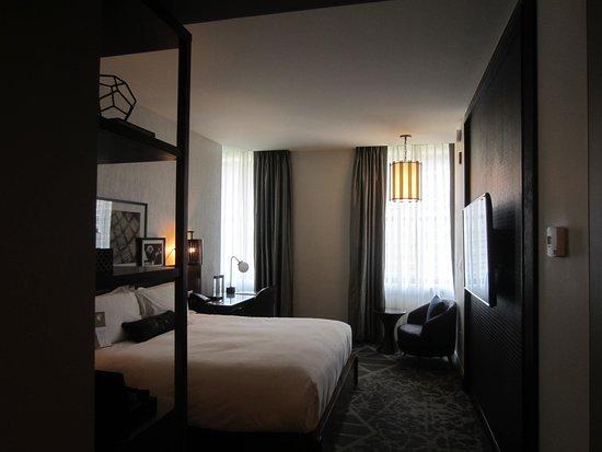A nice sized room