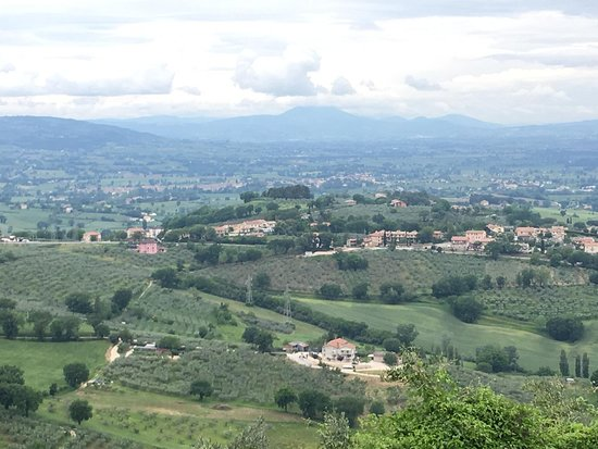Beautiful medieval Foligno in fabulous countryside