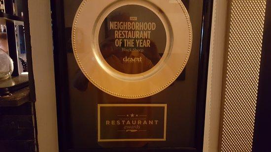 The Black Sheep: award winning