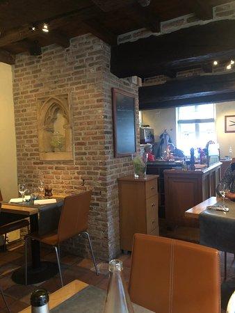 Inside of restaurant!