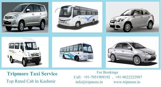 best taxi service in kashmir