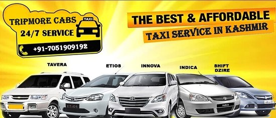 taxi service in kashmir