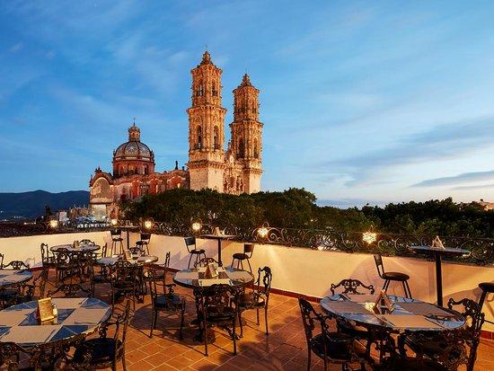 Terraza Del Hotel Picture Of Hotel Agua Escondida Taxco