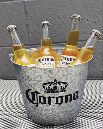 The WORKS Craft Burgers & Beer: We have Corona! And you can get it the best way possible, in buckets!!