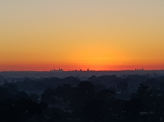 The glorious sunrise