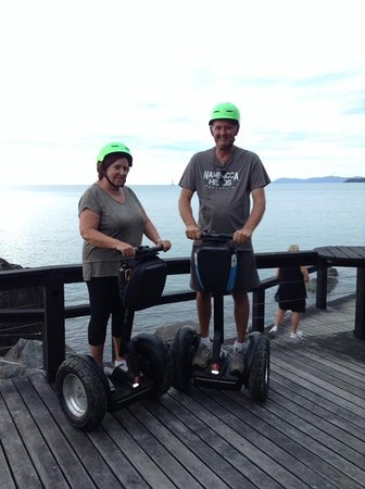 Us on the Segway boardwalk section