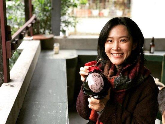 The Coriander Cooking Studio: Xia Jiou Tsai Cooking Class- Tasting of some exotic Taiwan herbal liquors.