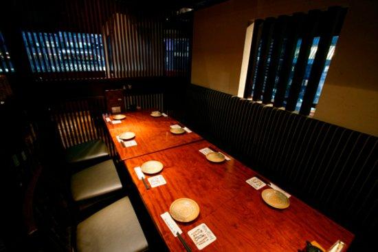 Imozo Shinagawa Honten: 8名様用半個室