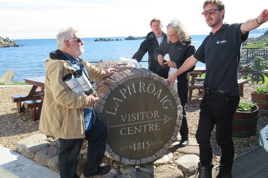 4-Day Islay and the Whisky Coast Small-Group Tour from Edinburgh: Adam, our Rabbies guide.