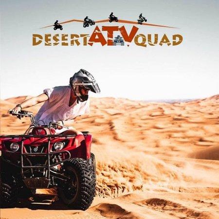 Desert ATV Quad