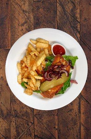 The Wooden Spoon: Open Chicken Sandwich