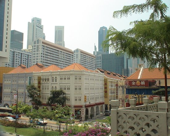Chinatown, Singapore - beautiful parts of the city - well maintained!