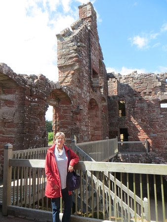 Edzell, UK: On the second floor