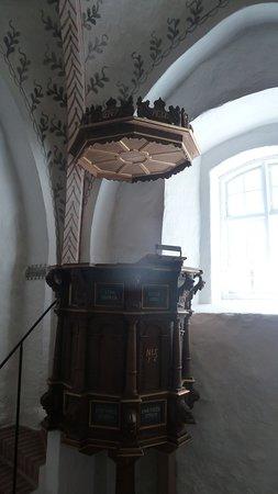Fårup kirke - prædikestol