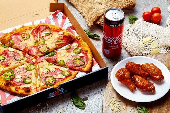 Alt Pizza: Super Single $22++