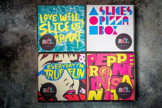 Alt Pizza: Pizza Boxes