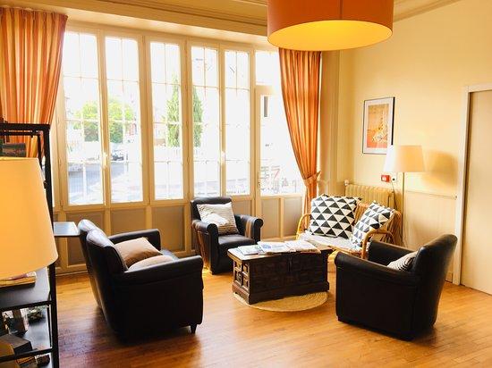 Salon - Lounge - Brit Hotel du Parc Dinard