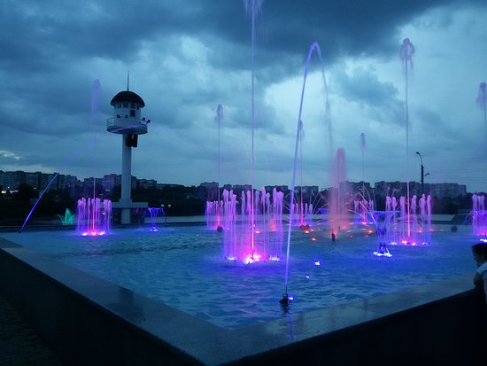 Perlyna Kokhannya Music and Light Fountain