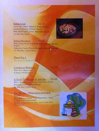 menu - Picture of Huaraches Moroleon, Urbana - Tripadvisor