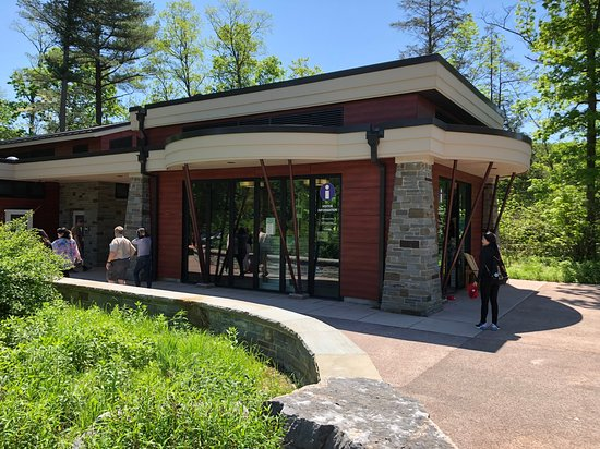Taughannock Falls - visitor's center