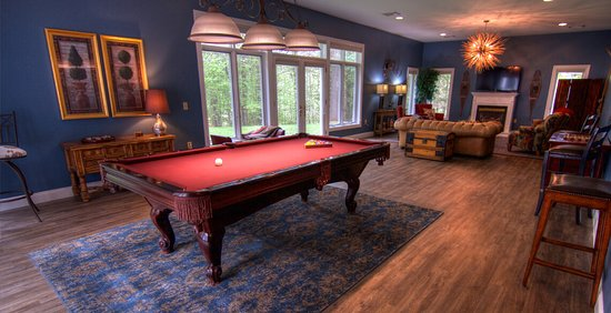 Newly renovated game room - luxury, adult-only New England bed and breakfast