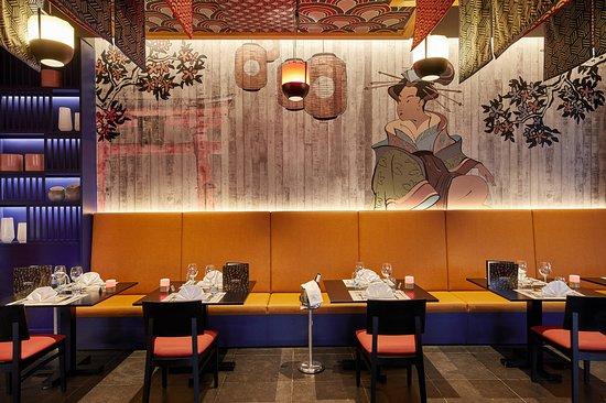 Hotel Riu Palace Maldivas: Japanese restaurant