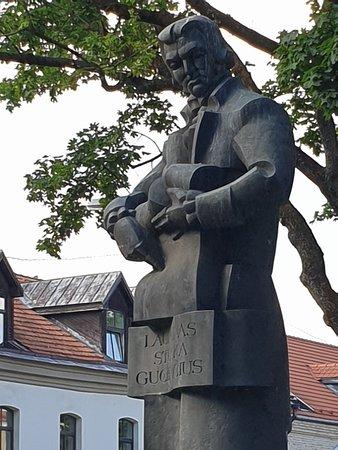 Statue of Laurynas Gucevičius – slika