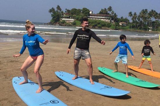 Surf School Boardwise Unawatuna