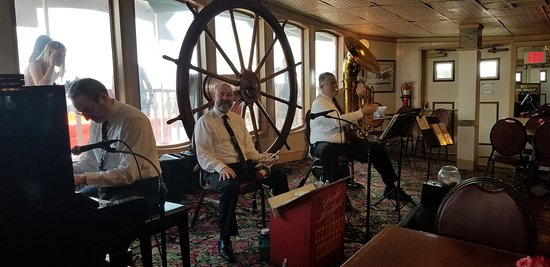 Steamboat Natchez Harbor Cruise: The Band. Great music and vibe.