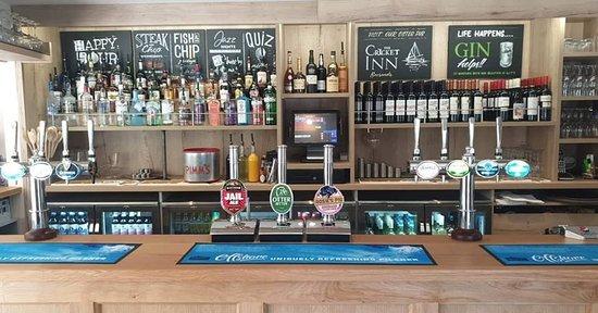 Stokenham, UK: New bar - May 2019