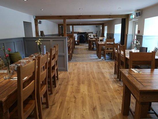 Stokenham, UK: Newly renovated restaurant - May 2019