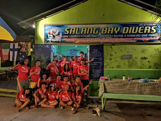 Salang Bay Divers: Group Photo