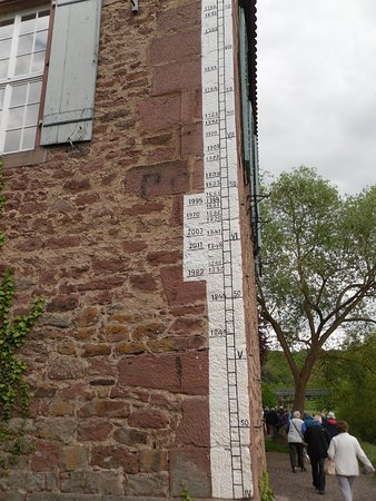 Wertheim Village: Wertheim - Old Town Flood Lines