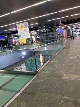 Cool train station