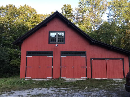 Corinth, Vermont: The tasting room and event area opened in October 2018