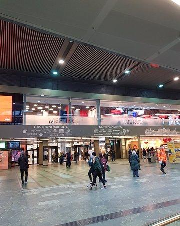 Impressive train station