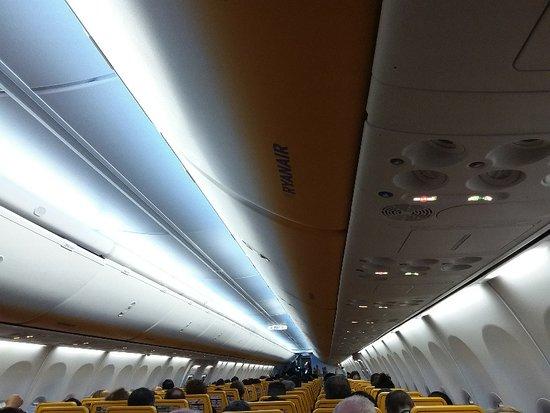Interno aereomobile  Ryanair