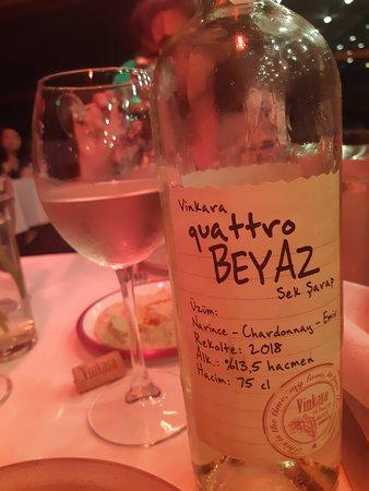 Buen vino turco.