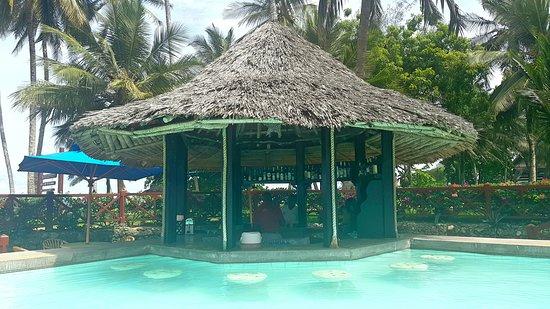 Shanzu, Kenya: Gotta love that swim-in bar!