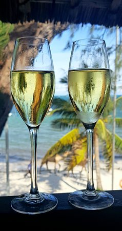Shanzu, Kenya: I only drink champagne at two occasions: When I'm in Mombasa, and when I'm not!