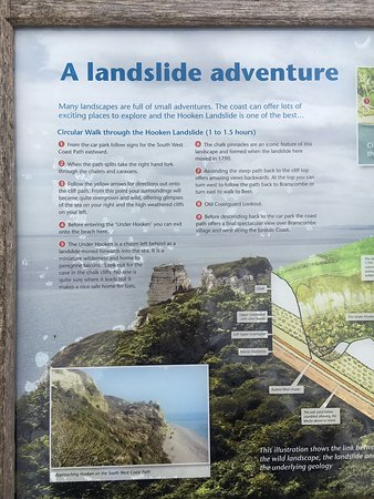Start in Branscombe on the lower coast path